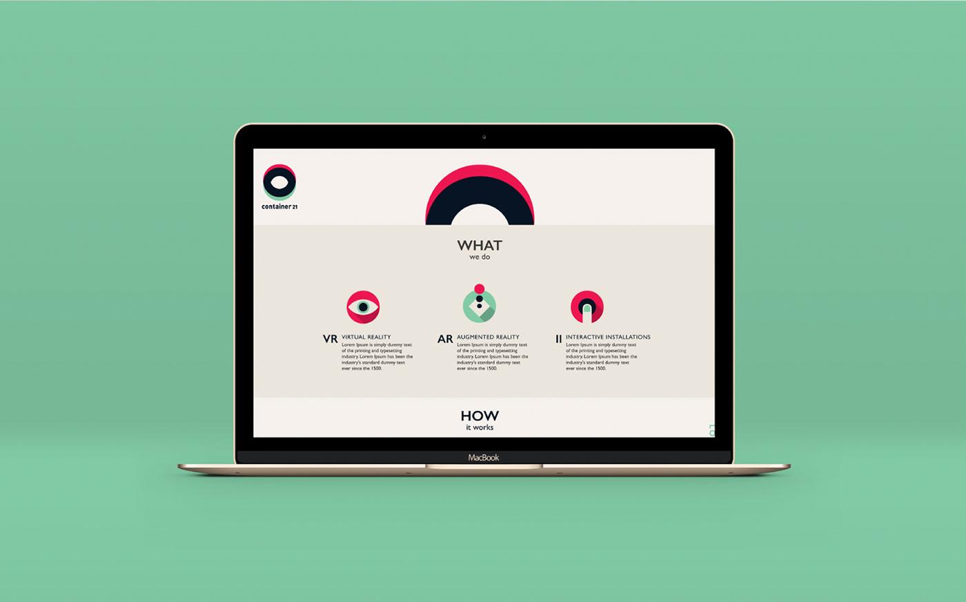 branding  Virtual reality logo graphic design  identity tech start up