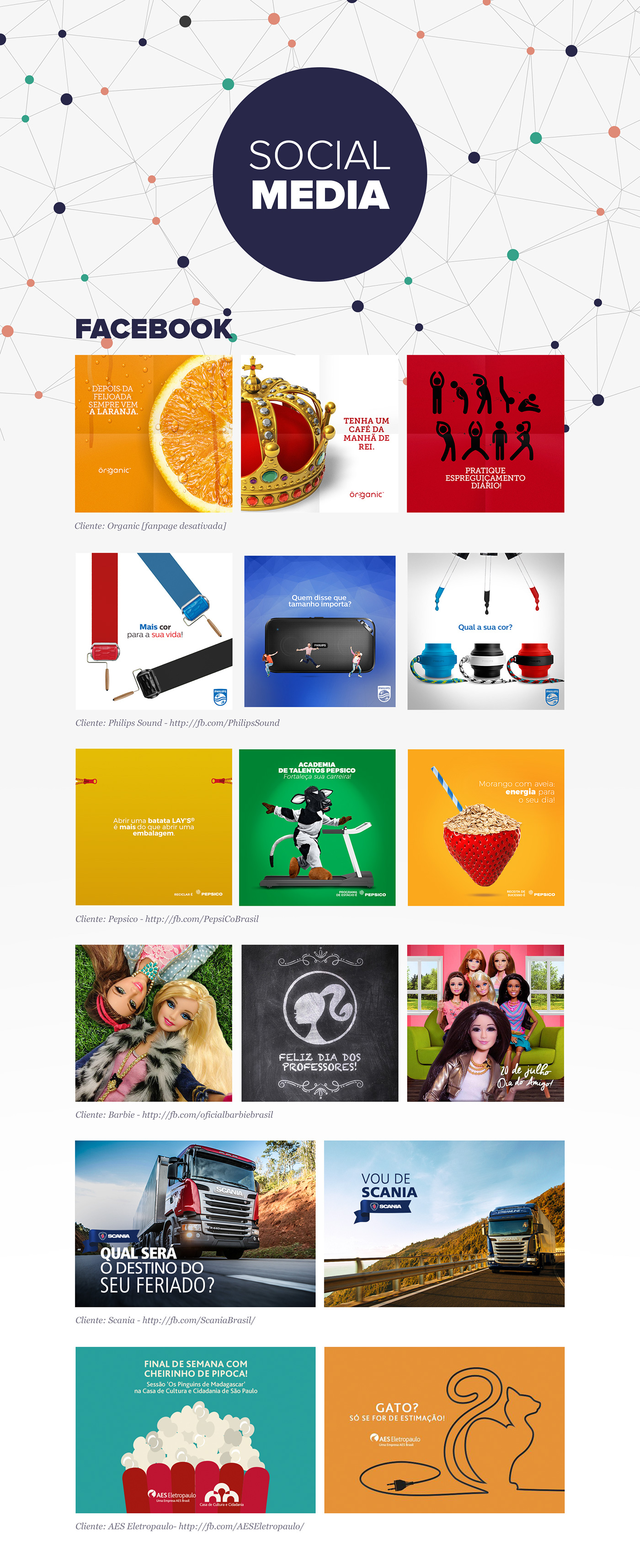 social media facebook design posts Facebook Ad Art Director
