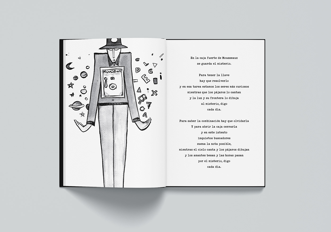 book Poetry  print ILLUSTRATION  editorial