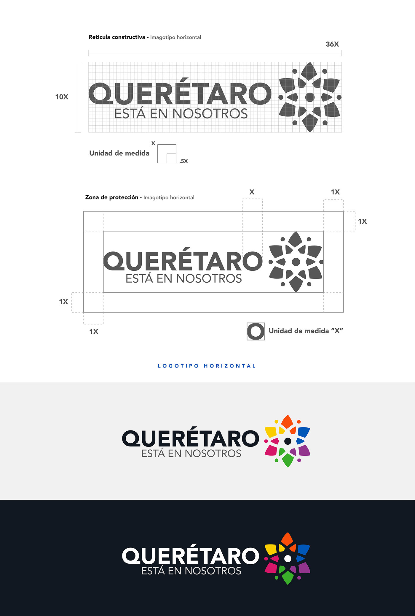 branding  City branding conceptualización dirección de arte diseño identidad visual Logotipo marca ciudad mexico Queretaro