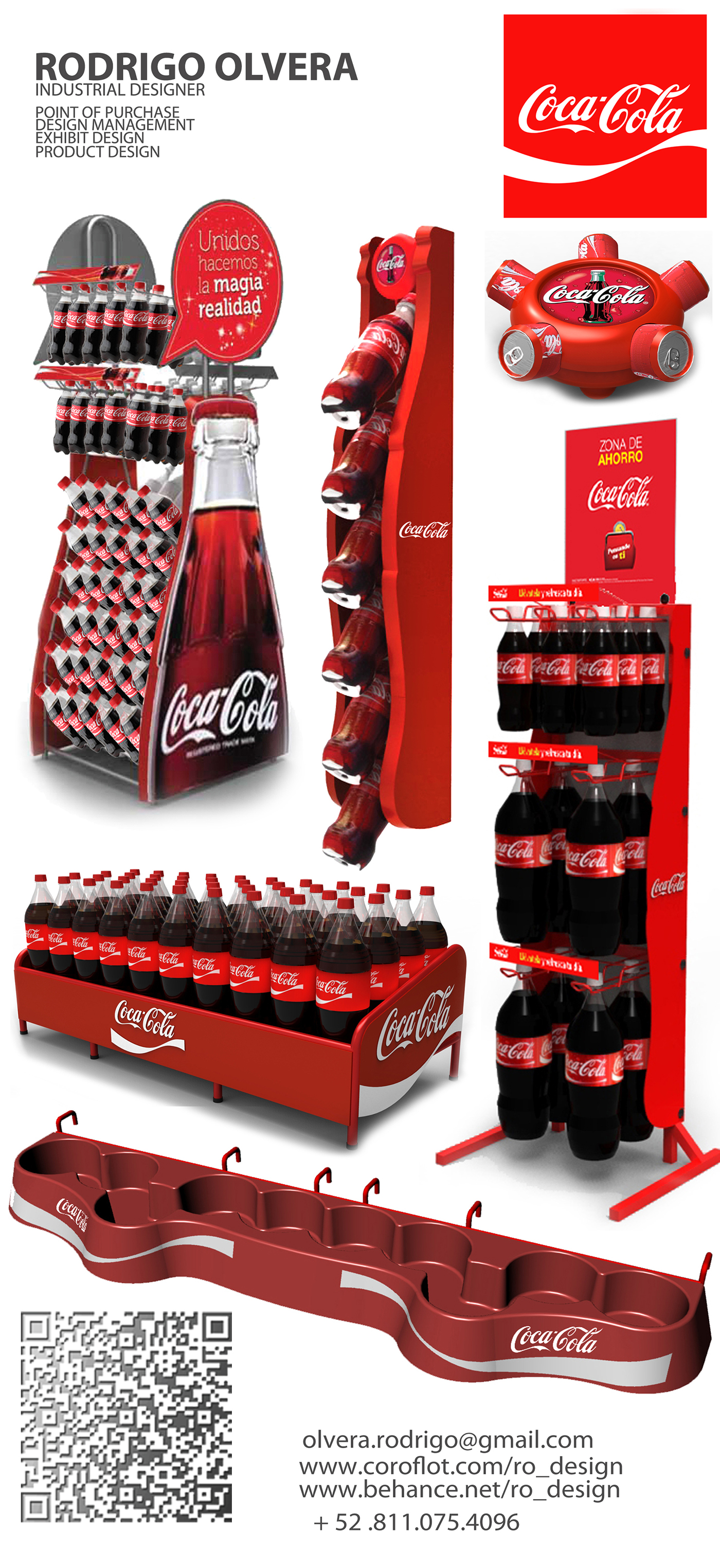 Modular Exhibition Stand Jobs : Coca cola displays on behance