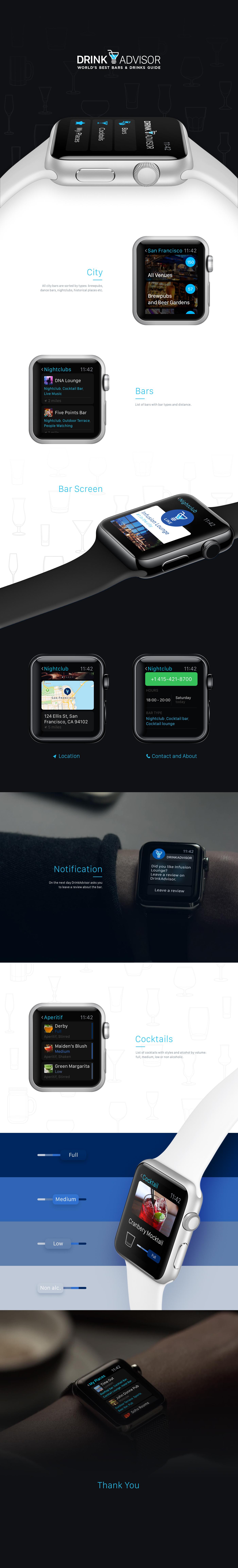 apple watch app application watch drink bar pub
