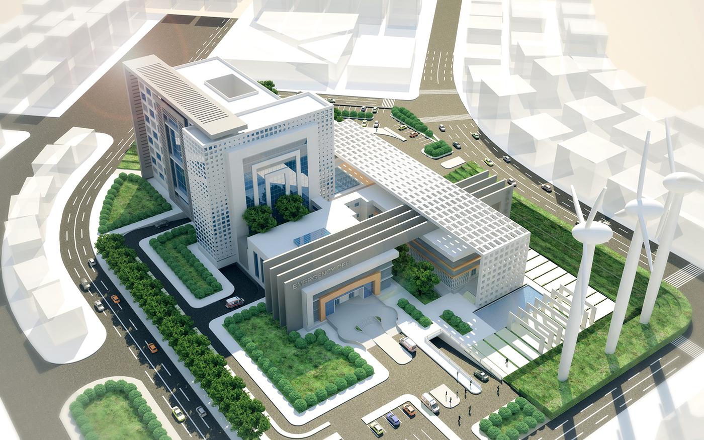 New Dammietta General Hospital On Behance