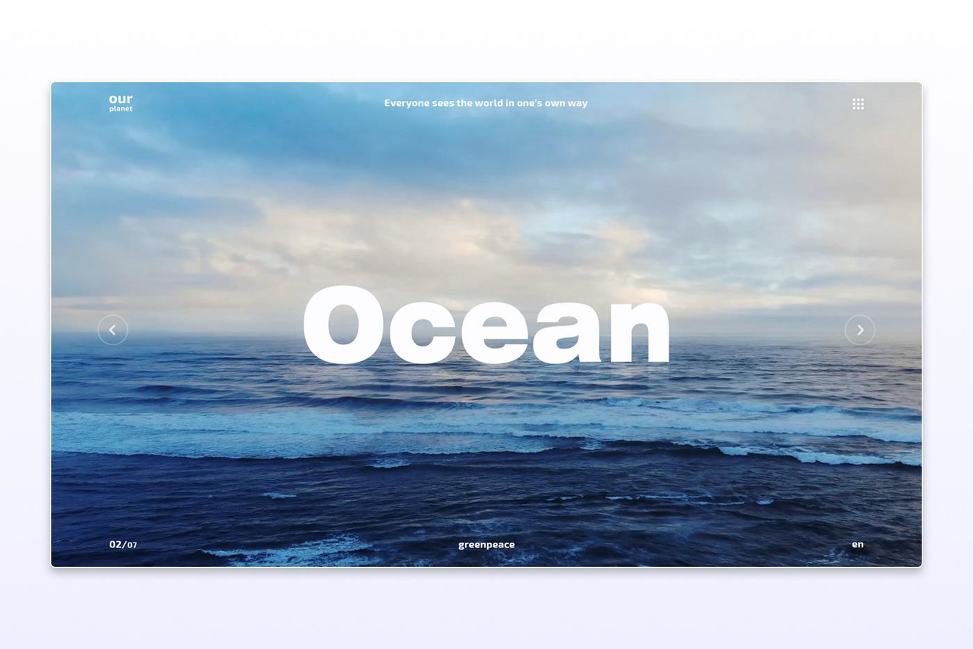 #Design #Figma #landing #ocean #photoshop #preview #site #webdesign