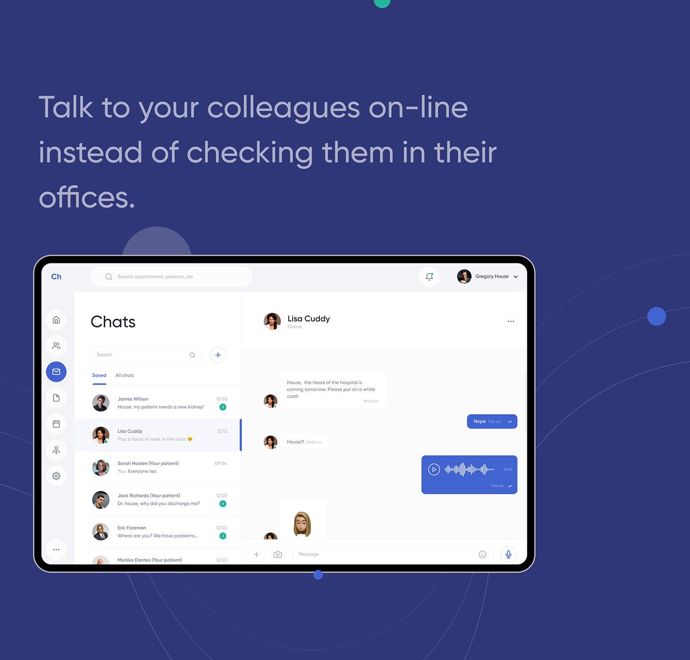 app,calendar,dashboard,desktop,doctor,Health,healthcare,patient,software,UI/UX