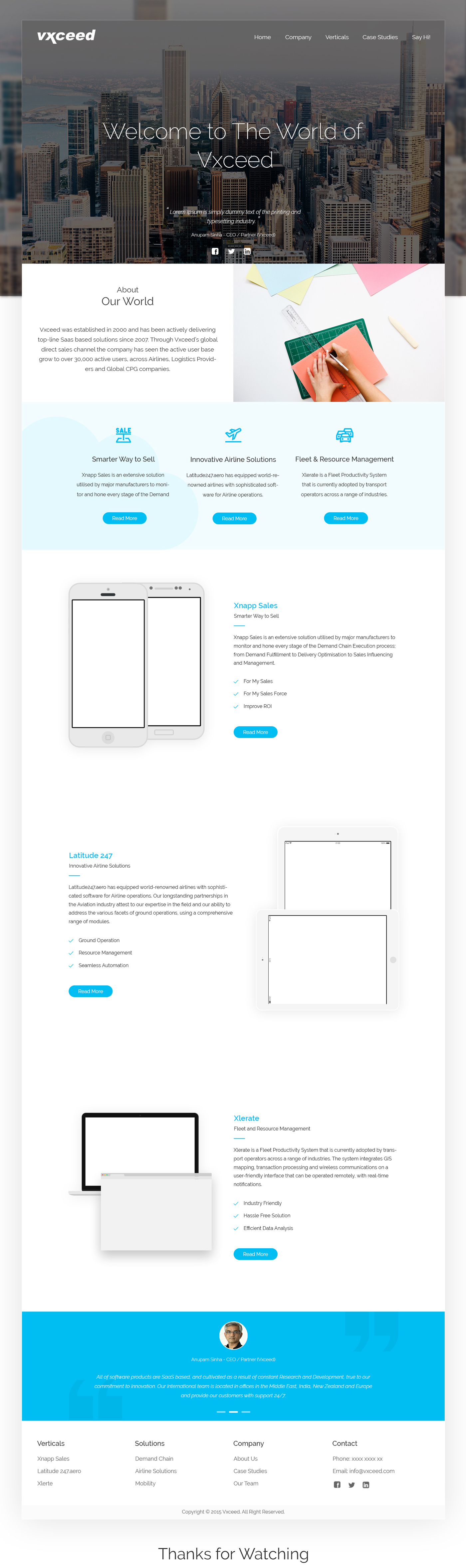photoshop UI ux redesign landing page