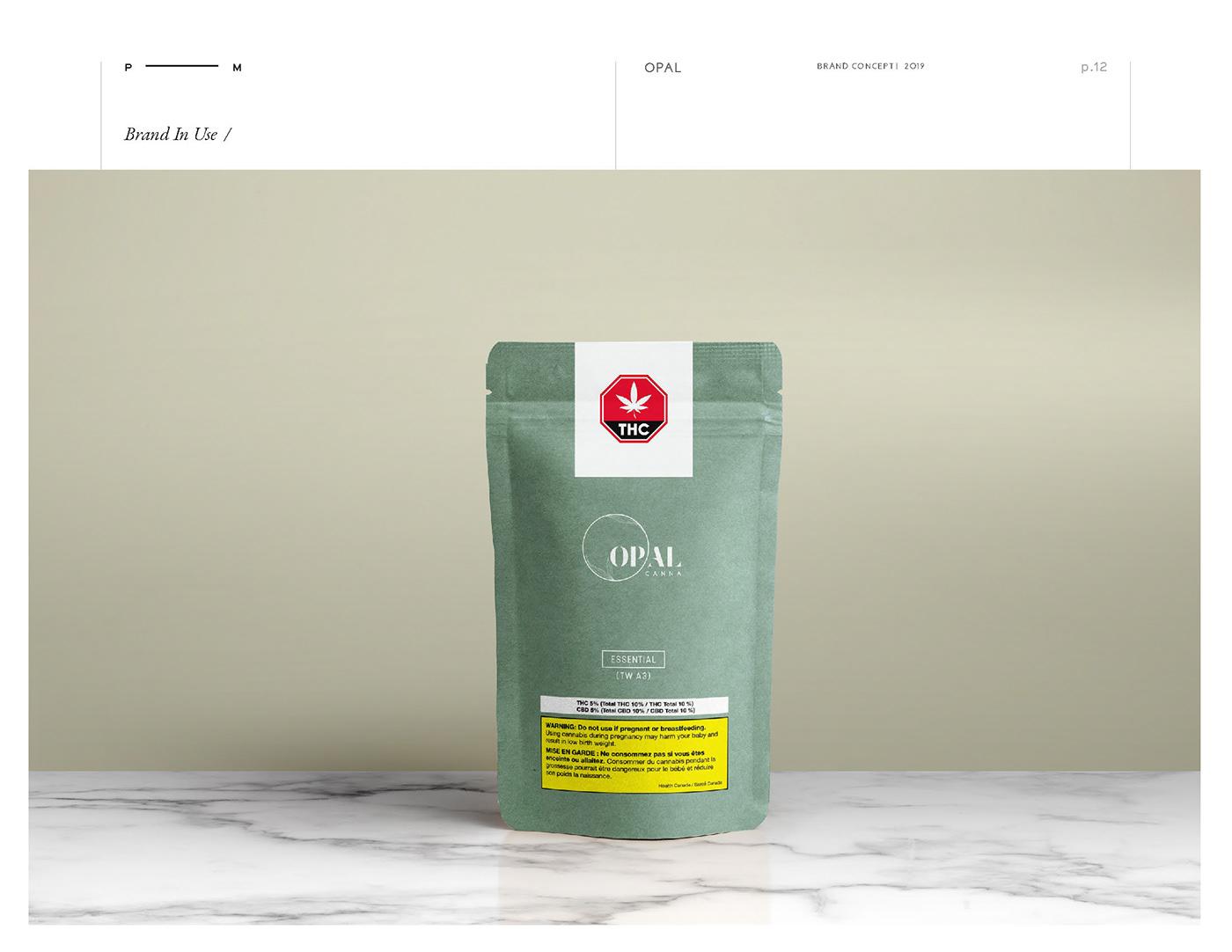 cannabis CBD branding  Retail design Packaging