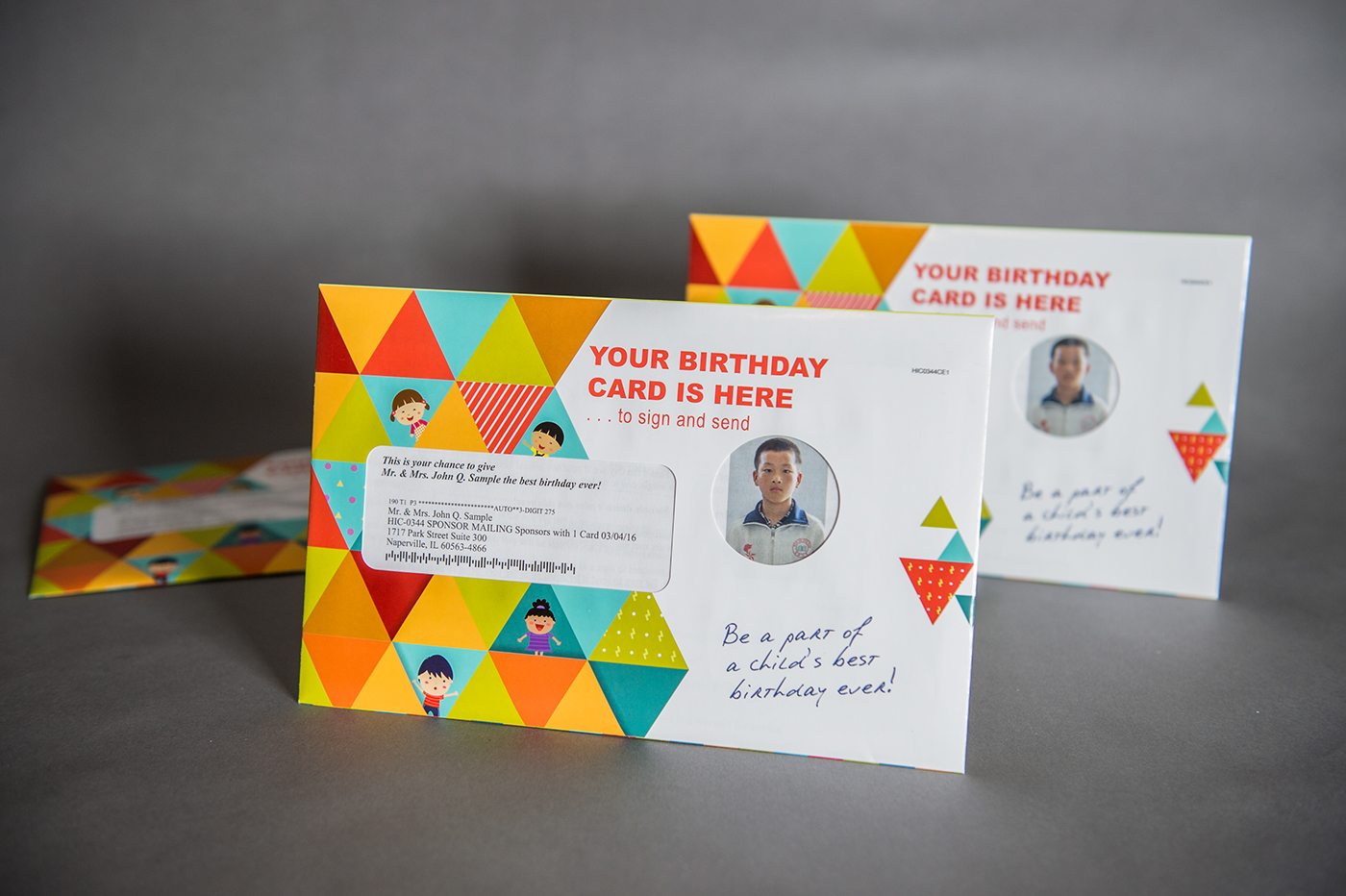 I Wanted To Design A Fun Colorful Package That Would Standout In The Mail And Get Opened Returned