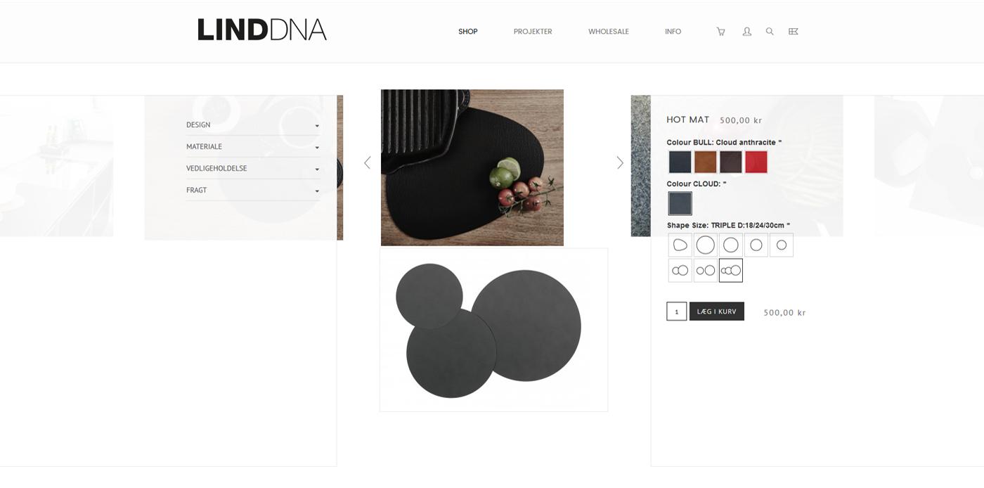 Webdesign webshop iPad iphone