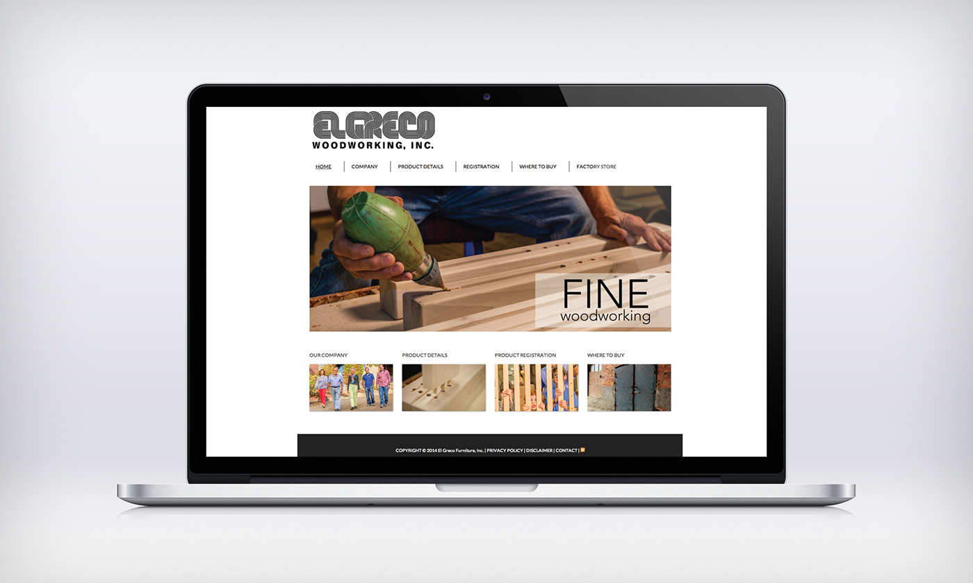 Furniture Web Design Project