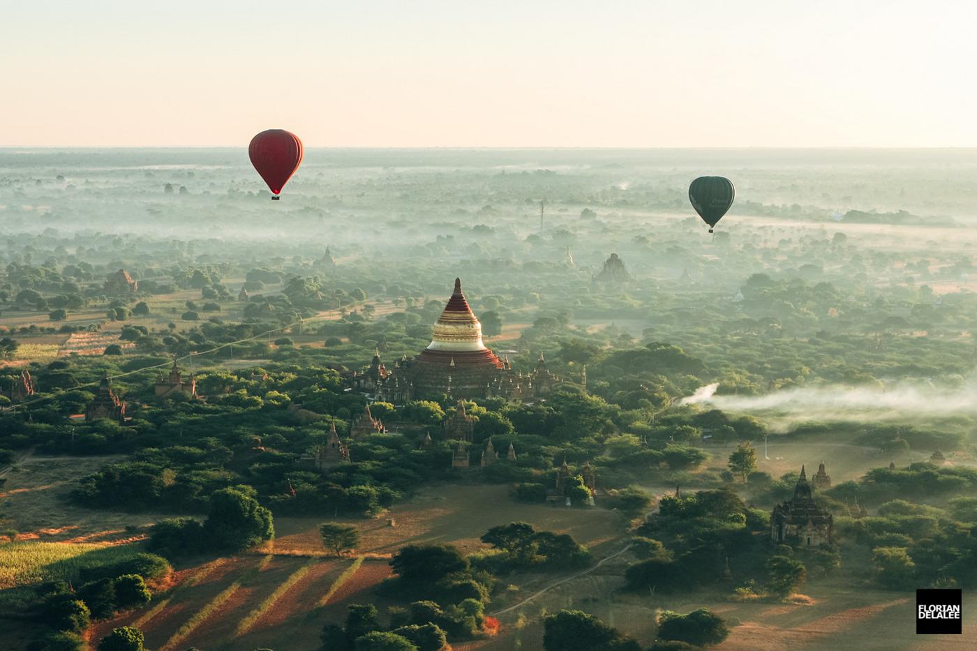 Image may contain: sky, hot air balloon and balloon