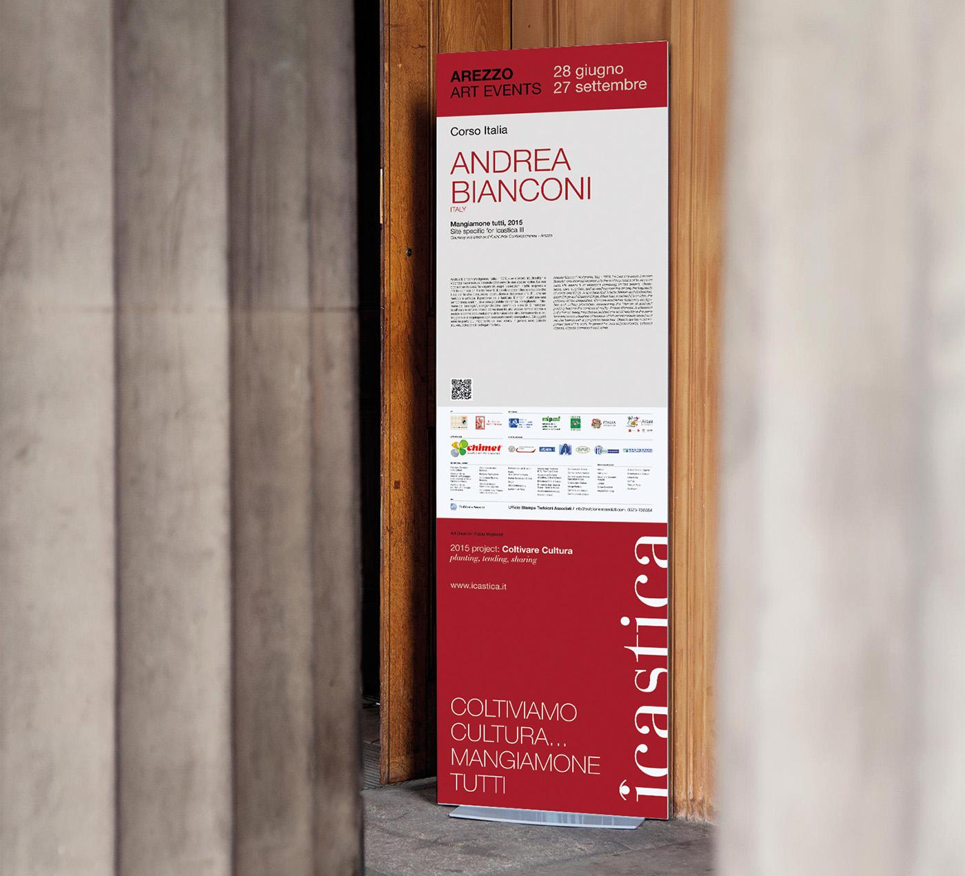 Arezzo Icastica arte raffinerie museo
