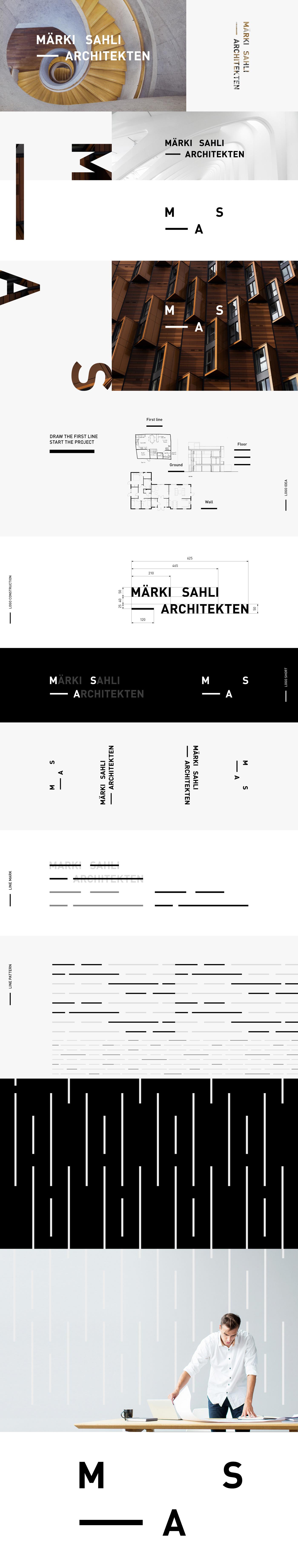 architect architects architecture brand identity business card logo Logo Design Logotype Stationery visual identity
