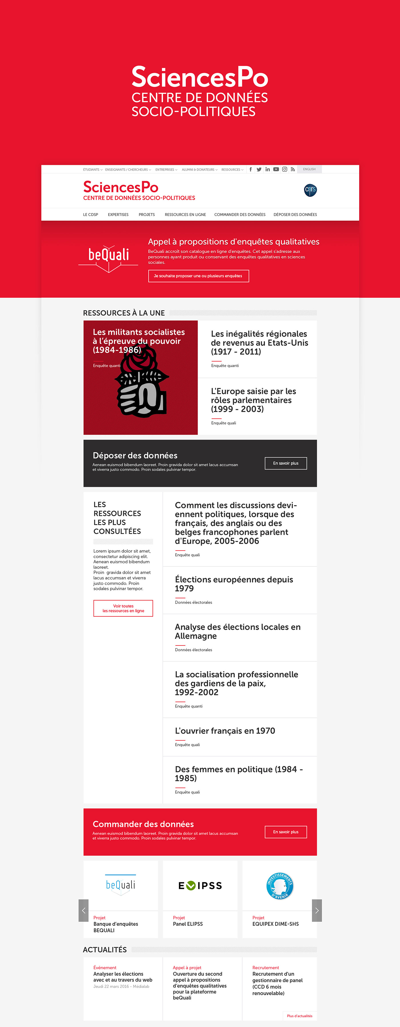 politique red rouge science