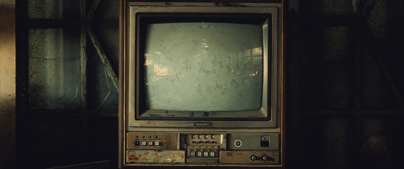 Image may contain: television, computer monitor and television set