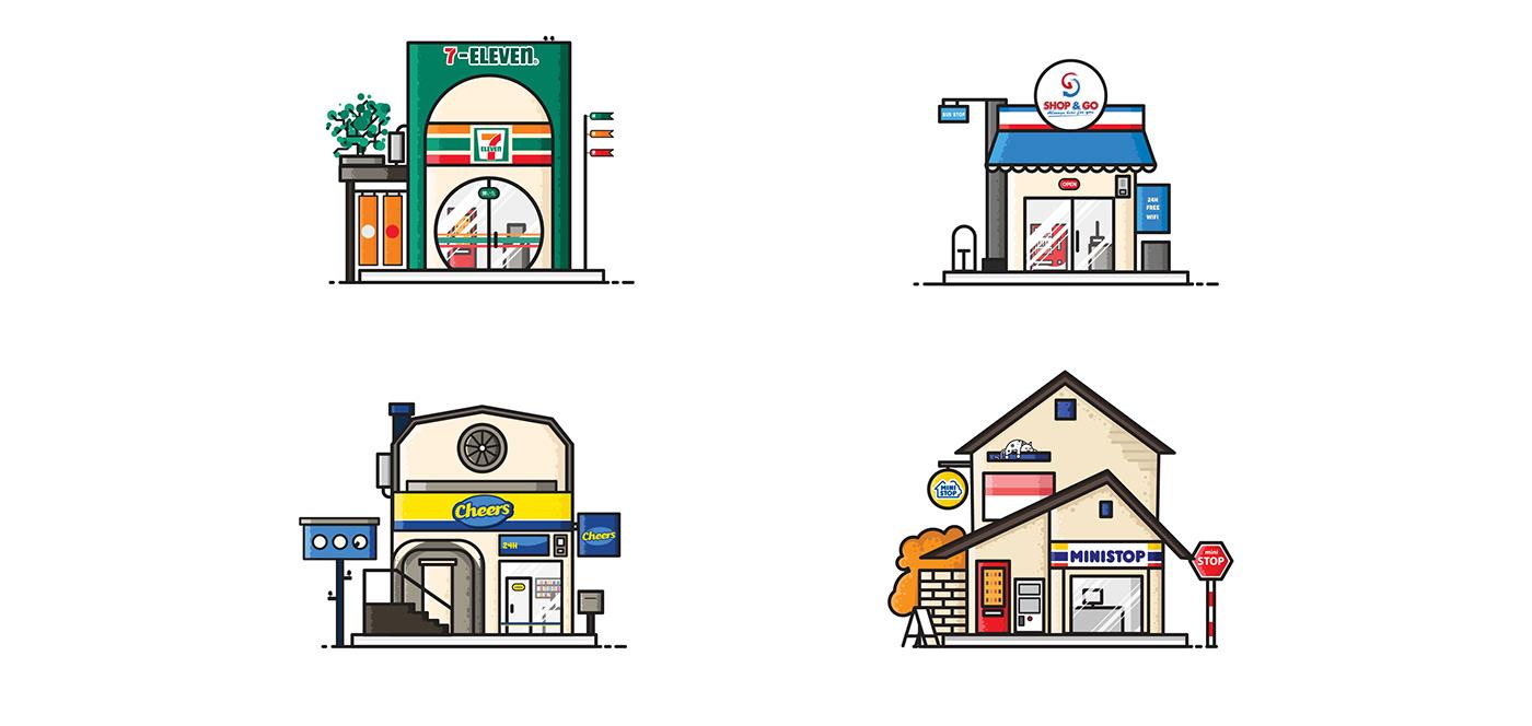 Illustrator ILLUSTRATION  art Icon graphicdesign graphic design direction