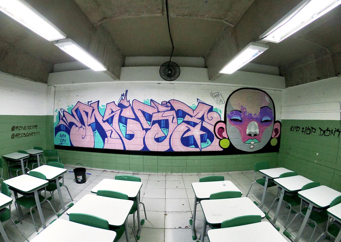Image may contain: indoor, wall and drawing
