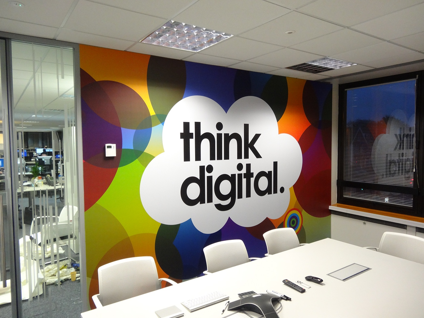 Direct Line Office Branding London On Behance