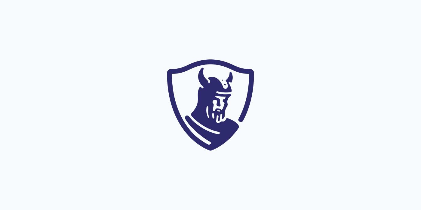 Viking logo for sale.