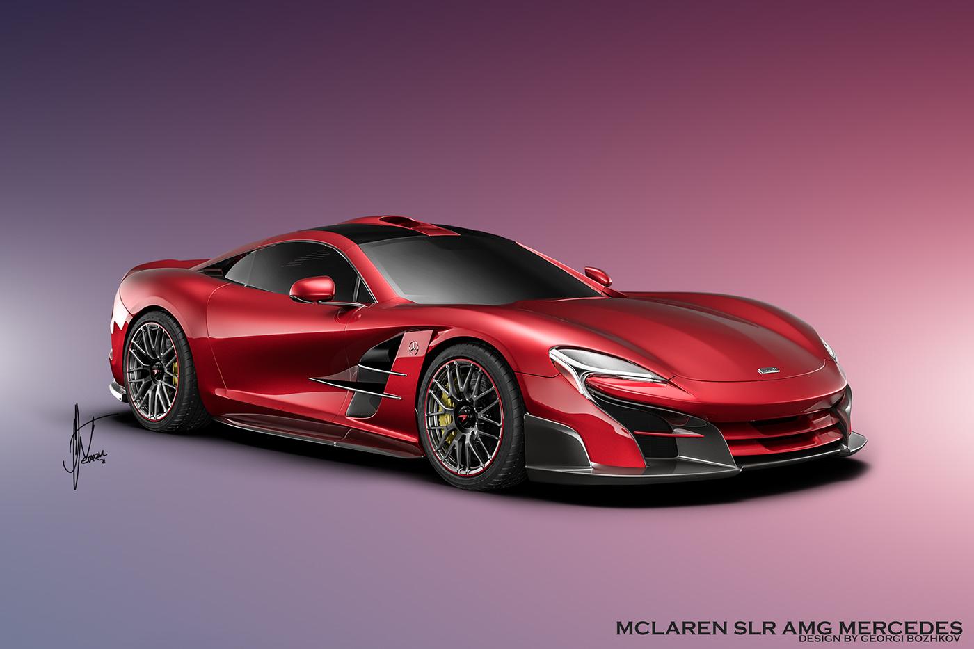 CONCEPT-VISION FRONTENGINED McLaren MCLAREN-COUPE MCLAREN-MERCEDES MERCEDES-MCLAREN slr SLR-AMG SLR-MCLAREN vision