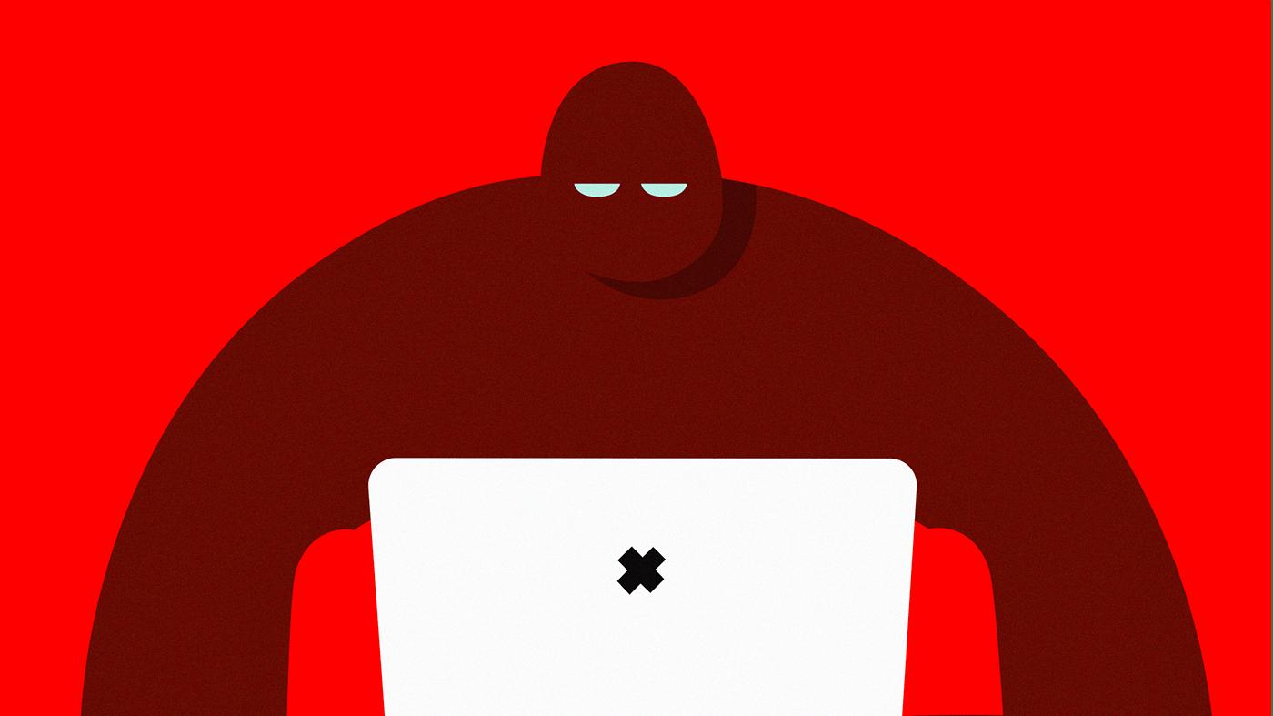 animation ,ILLUSTRATION ,Illustrator,IoT,mobile,Mobisec,security,vector,video