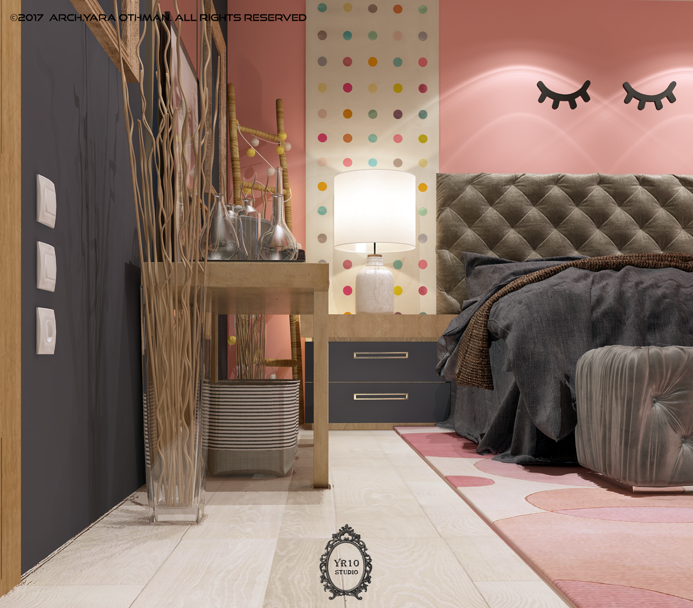 NAVY PINKY ROOM on Behance