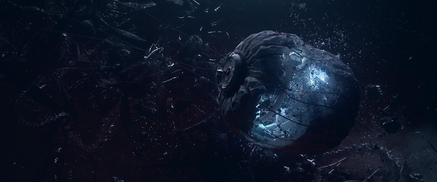 3D CG Scifi short