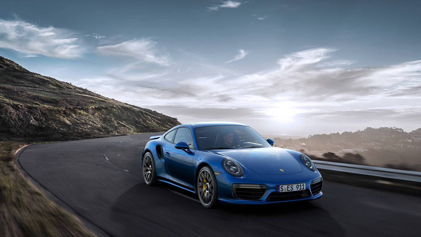 VRED Porsche 911
