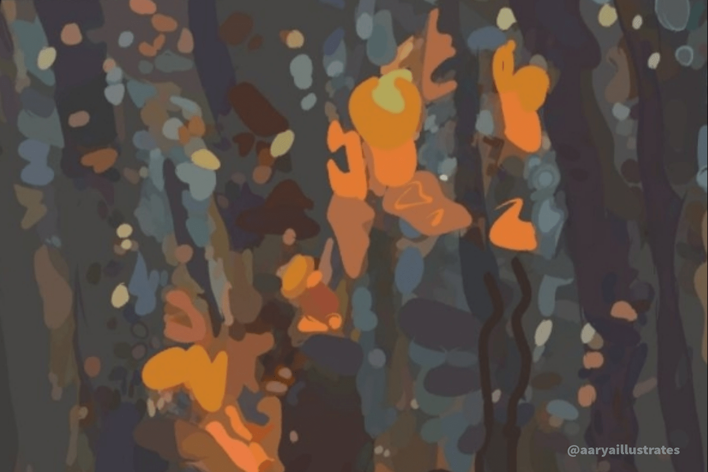 adobedraw app concept art environment painting ILLUSTRATION  photoshop