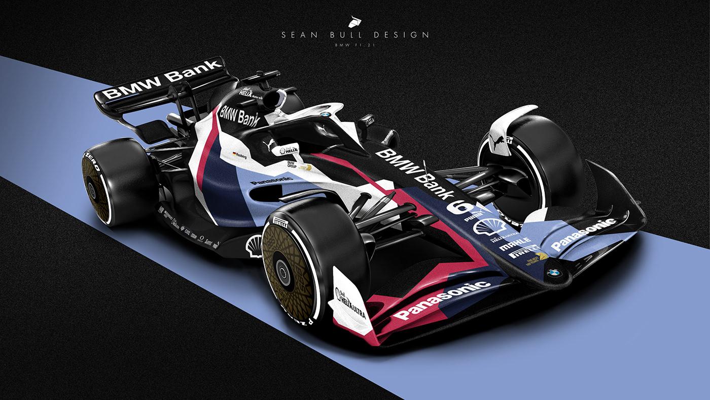 F1 2021 Concept Liveries on Behance