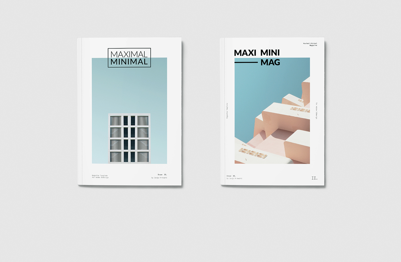 Minimalist Book Cover Template : Maximal minimal free magazine template on behance