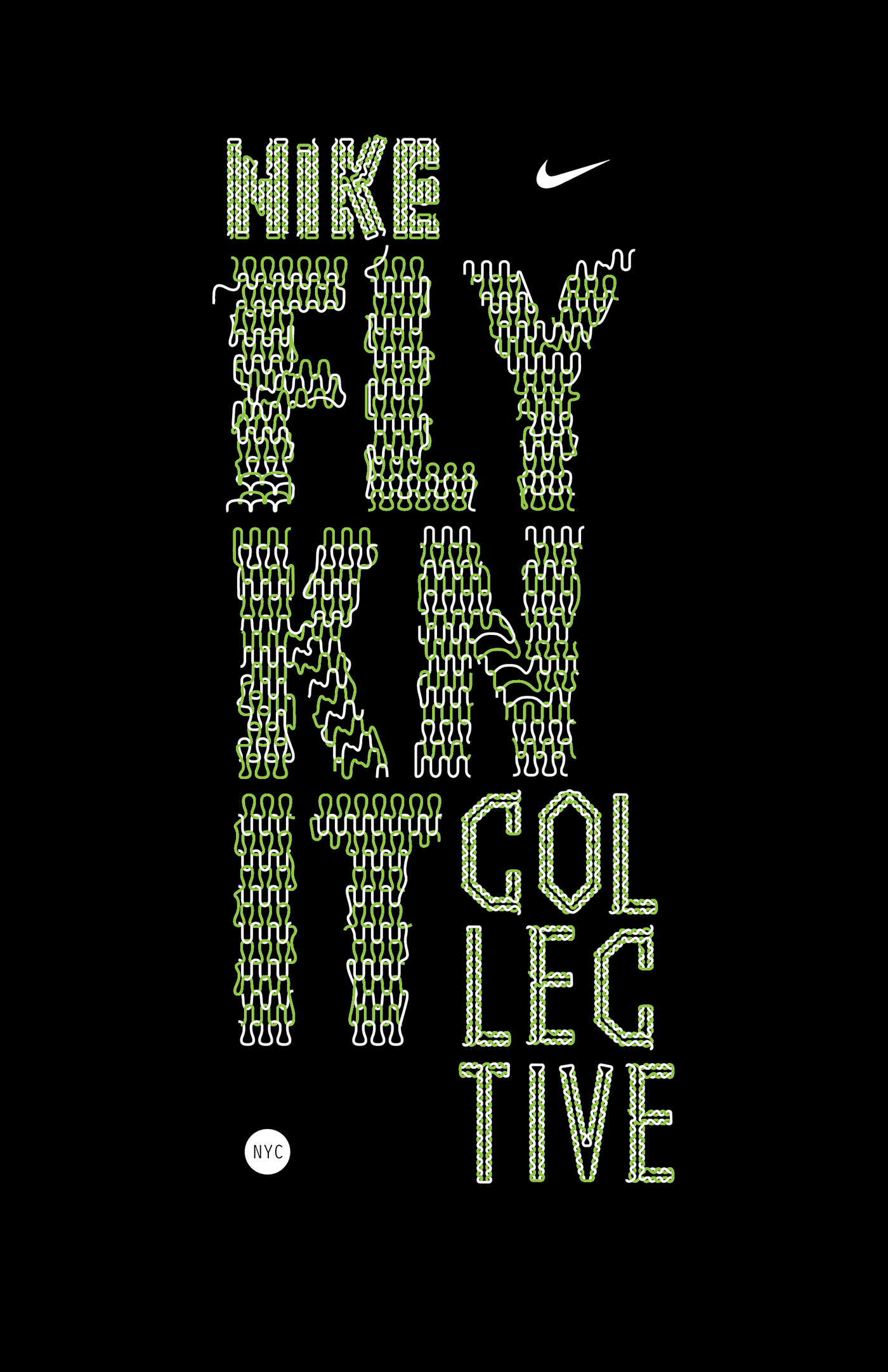 Nike flyknit collective t shirt 3 on behance for Nike flyknit t shirt
