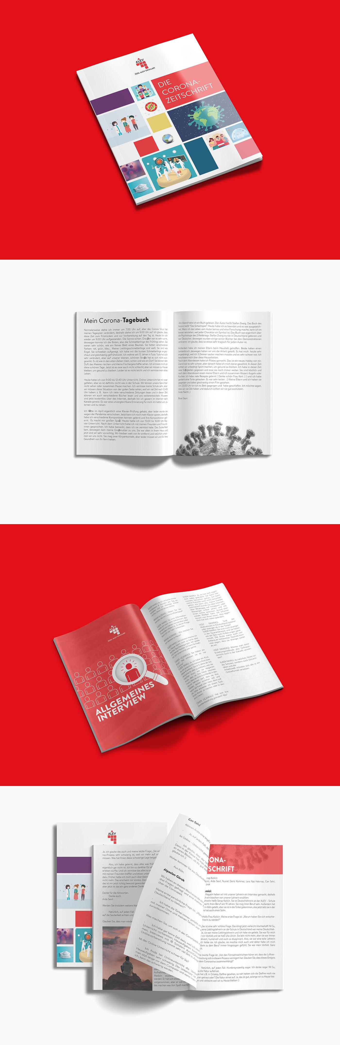 broşür Dergi katalog magazine