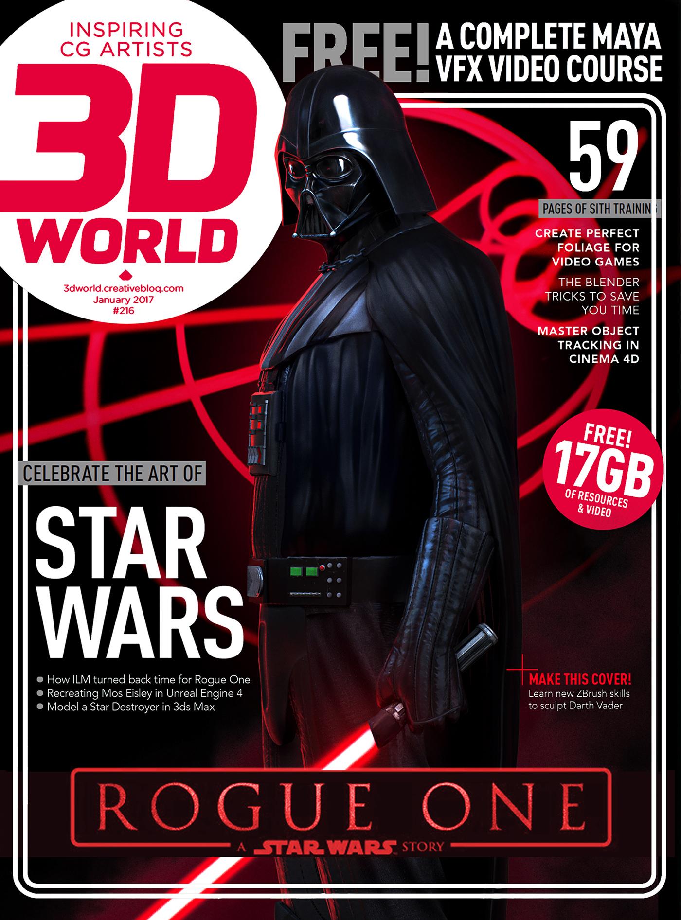 3d World Darth Vader on Behance