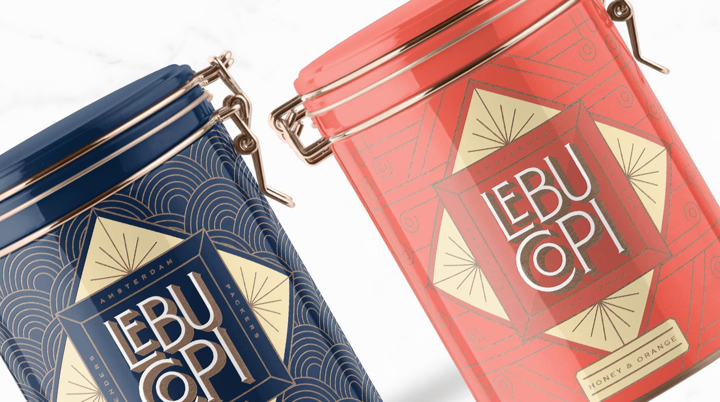 tea art deco branding  copper hot stamp Packaging brand identity Mockup photoshop mockup gold foil