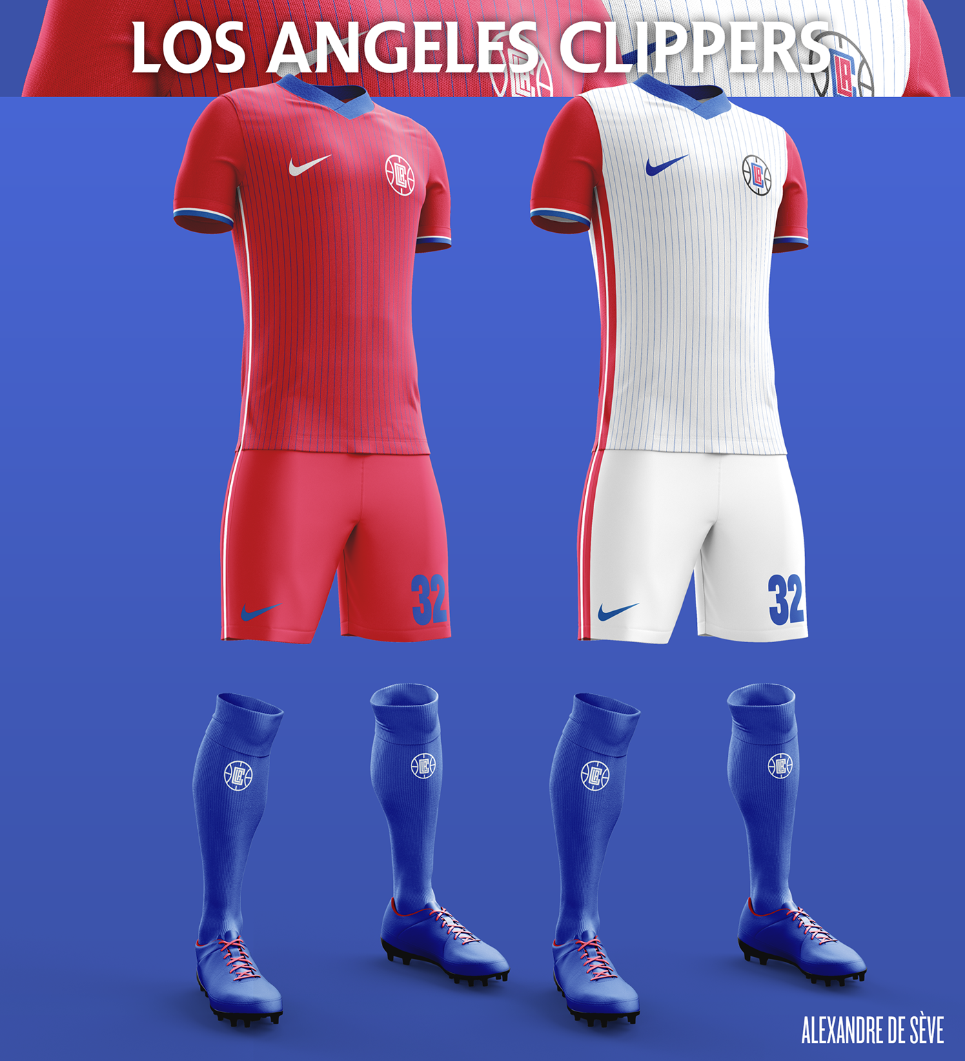 Talisman & Co. | LA Clippers Soccer Concept Kit
