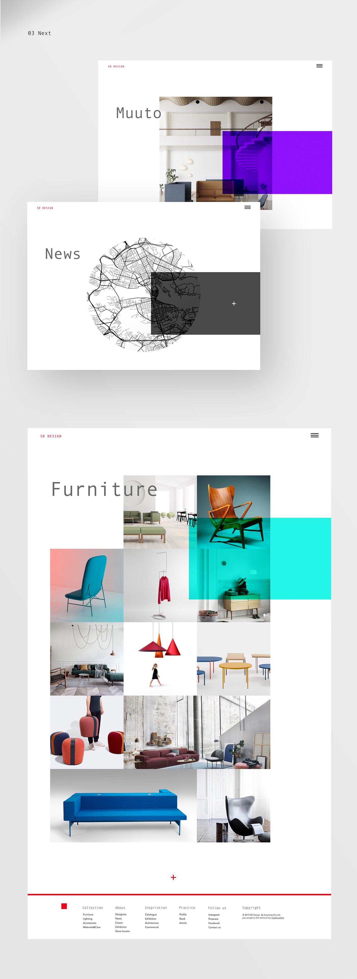 Web Website colors landing landing page Interface UI interaction UI/UX Design interface design