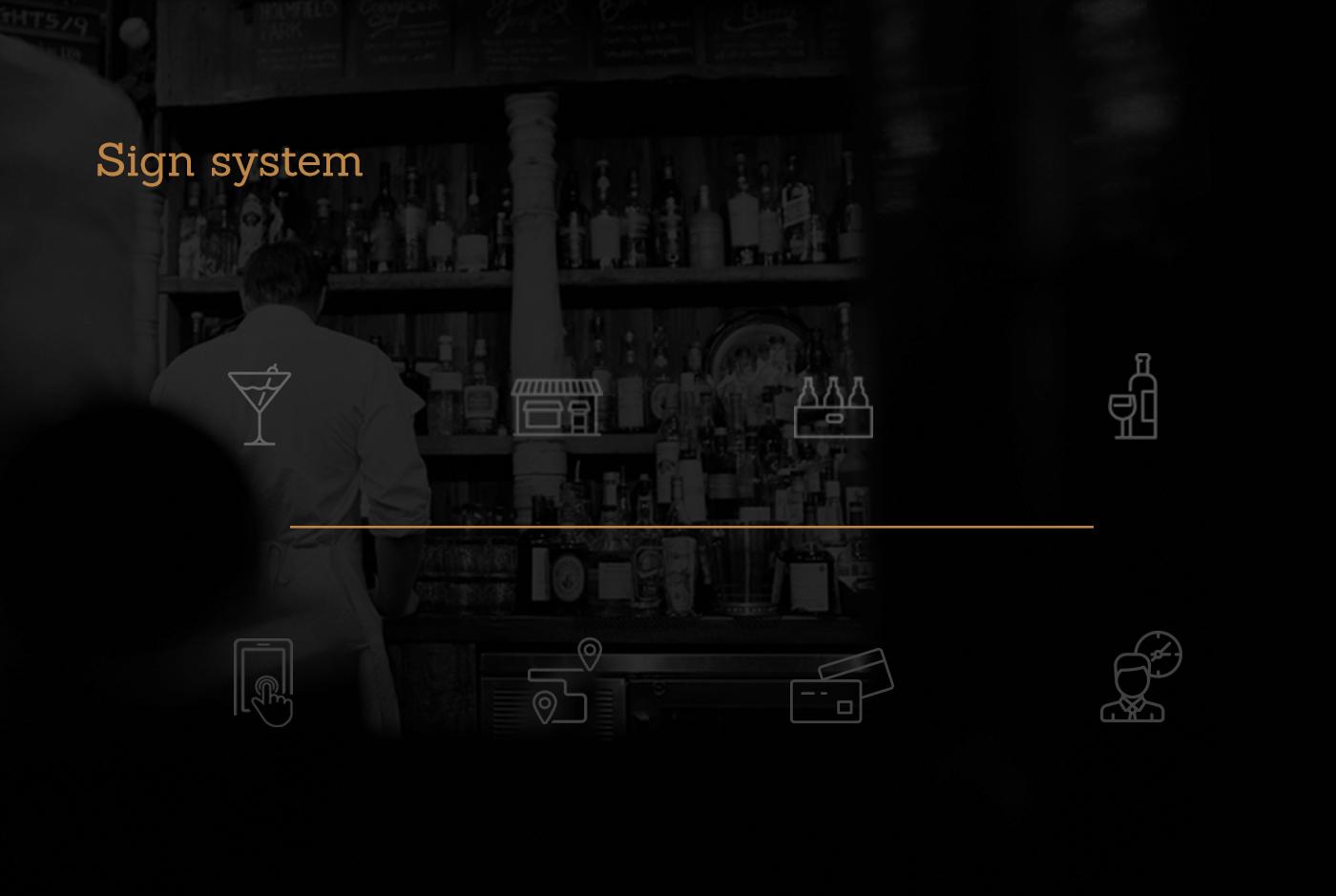 delivery alcohol branding  app design ux/ui Startup ux UI Ambush
