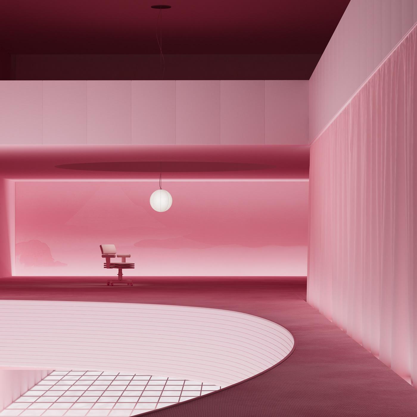 3D ArtDirection CGI furniture interiordesing interiors objects reisinger Render
