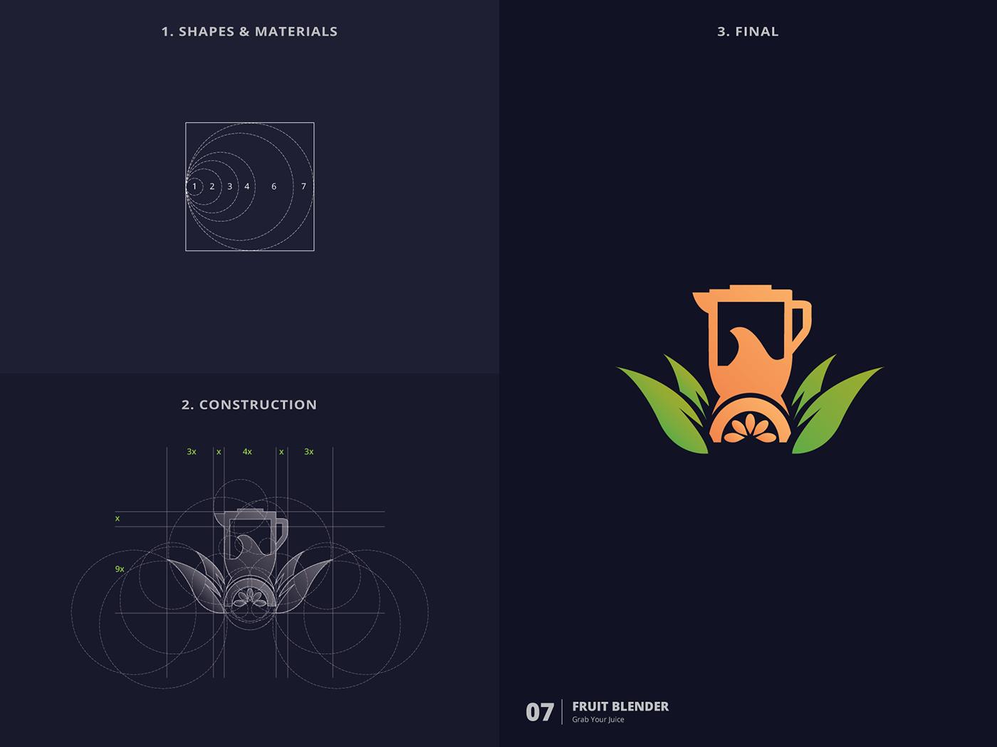 logo logofolio Logotype logo collection challenge logo challenge Golden Ratio logos Logos And Marks branding