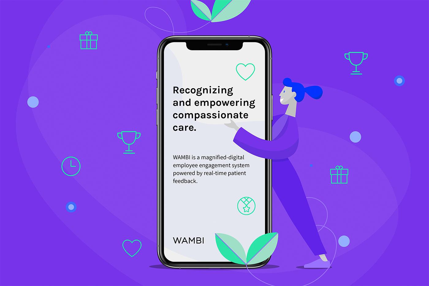 app branding  design Health ILLUSTRATION  Interface medical online tech Web