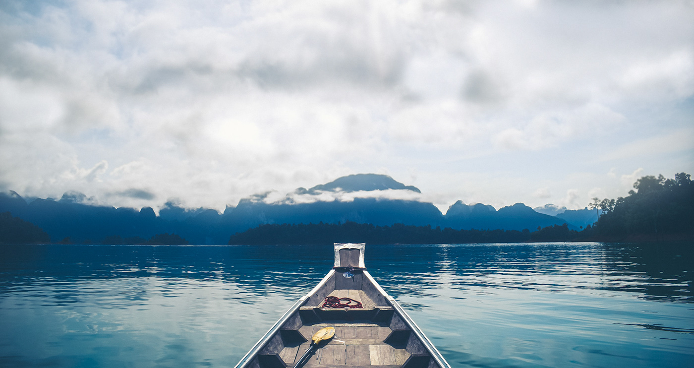 blue khao sok lake Raft House serene Thailand Travel water