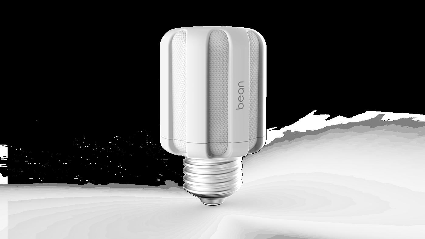 Bean Smart Bulb Socket on Behance for Smart Bulb Socket  53kxo