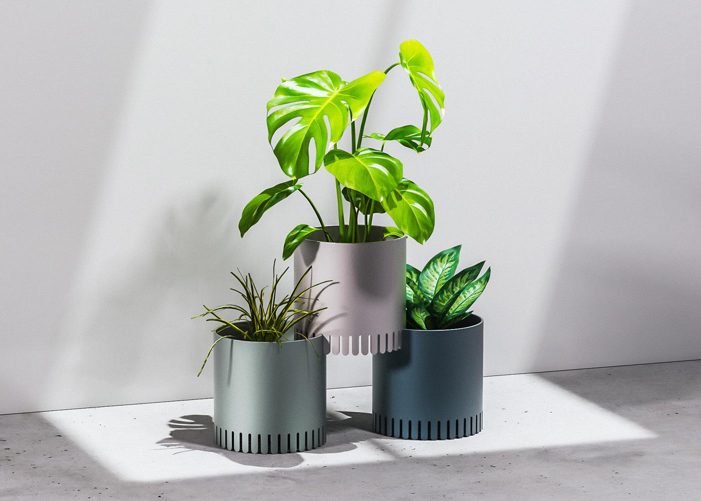 clean home goods housewares minimal modular modularity Planter planters plants simple