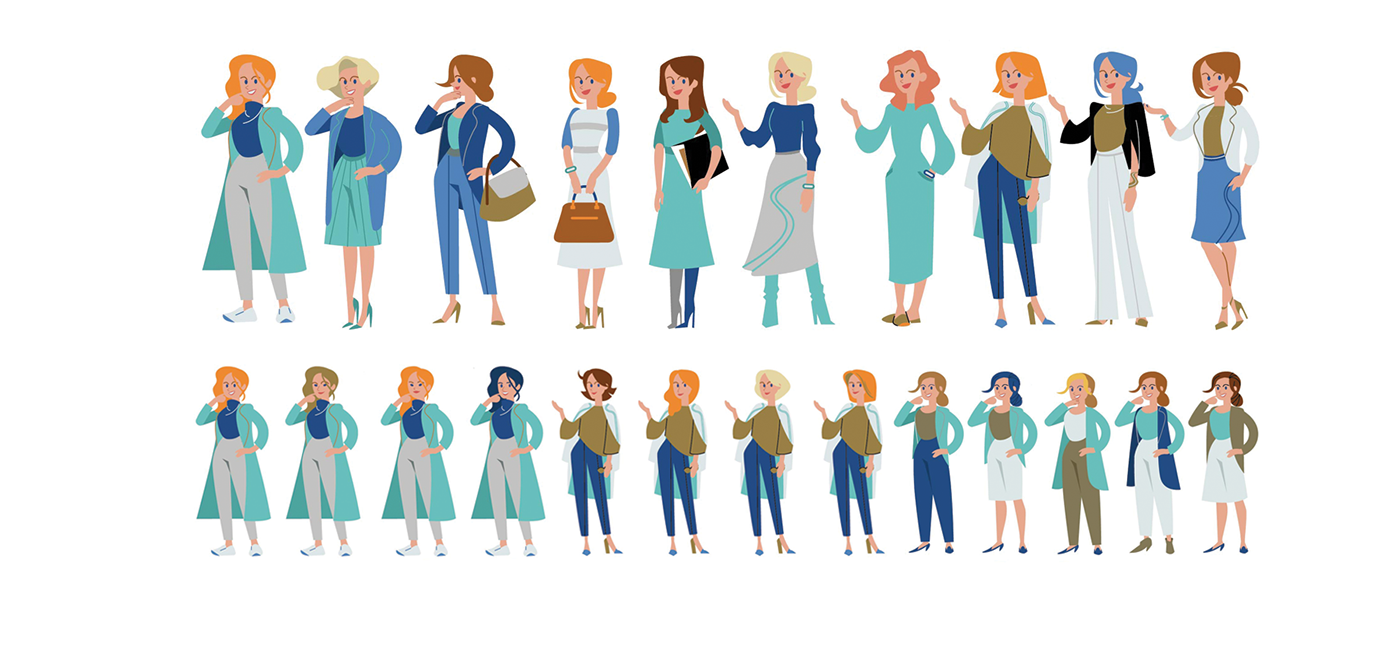 Character Character design  brand illustration system illustration guideline branding illustration identity illustration Style Guide visual brand system