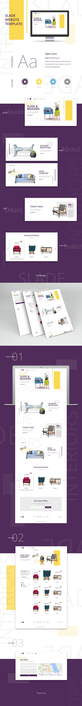 slade website template vol 1 on behance