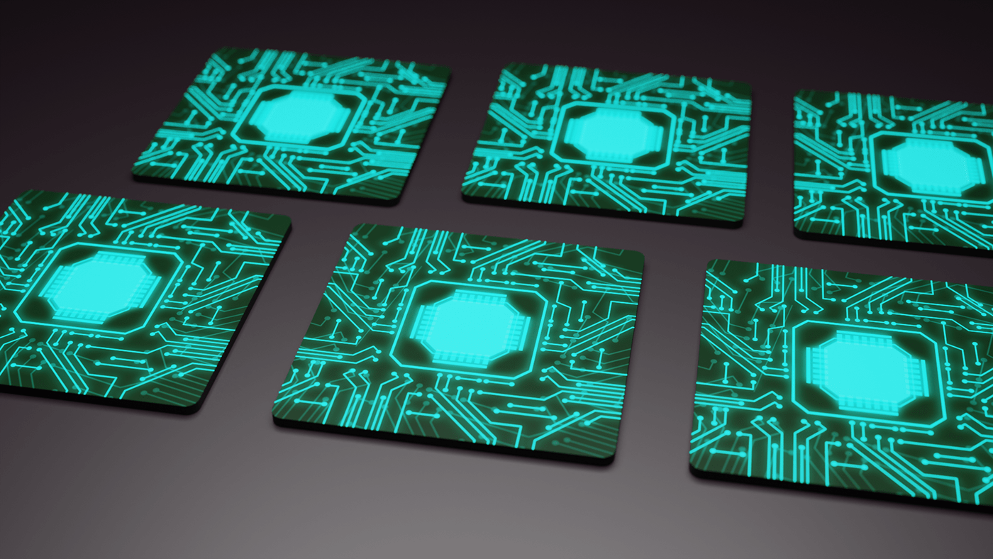 coaster drink science fiction Tron