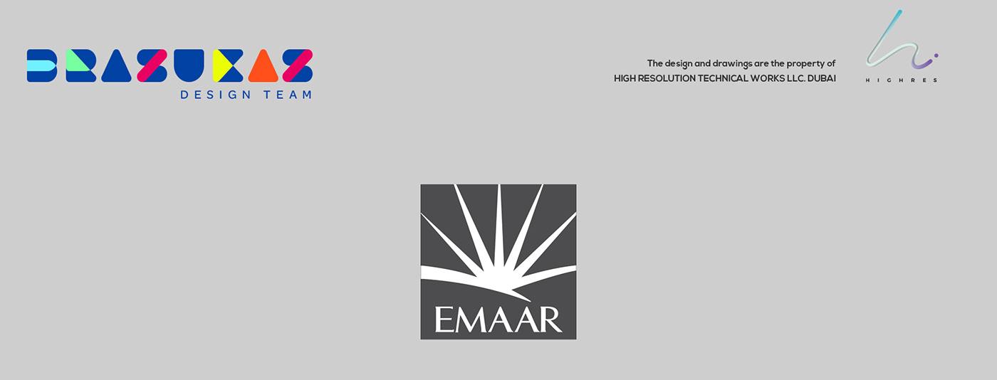 design Emaar Event Exhibition Design  STANDSDUBAI