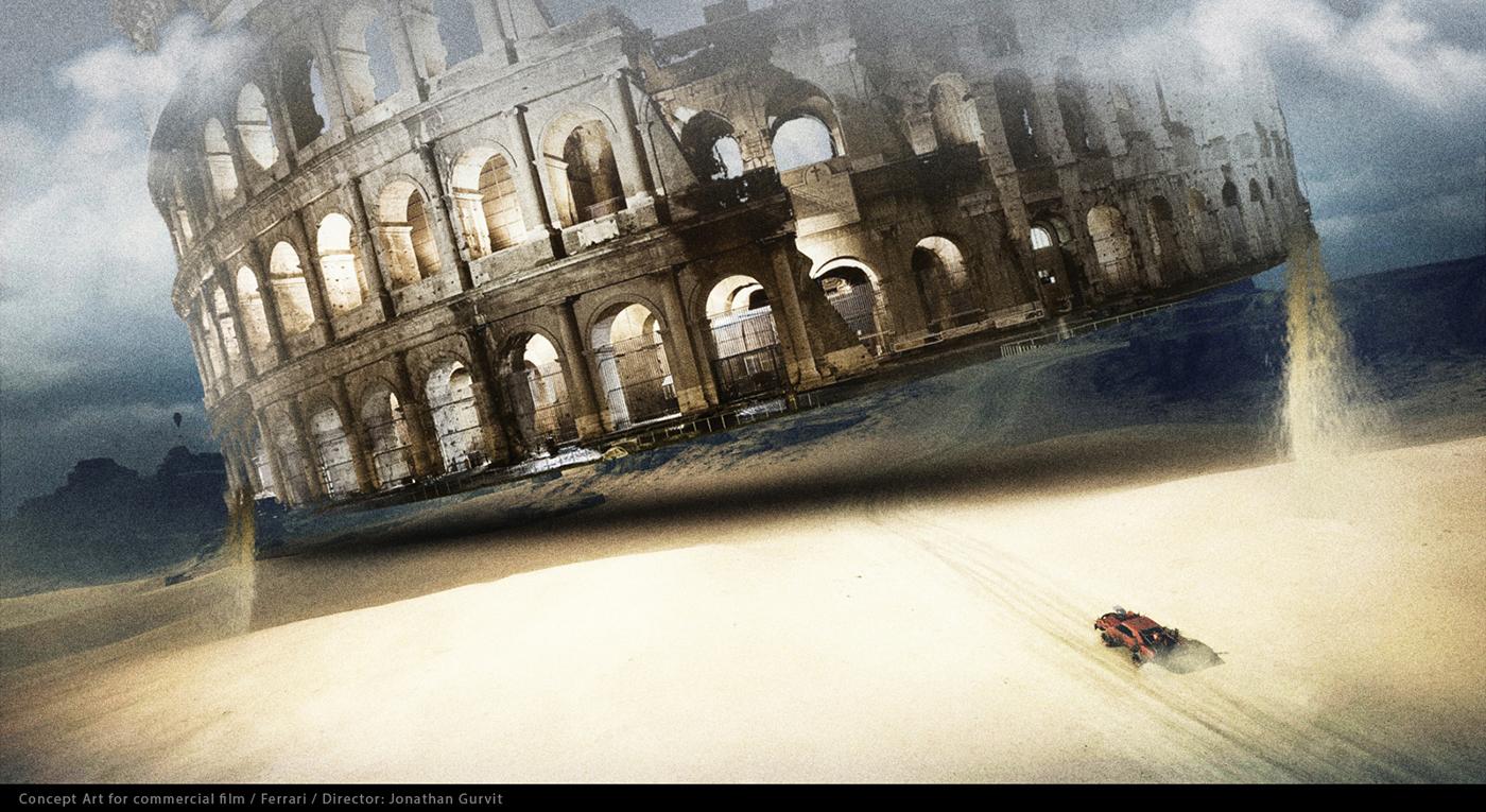 Film Games Concept Art On Behance