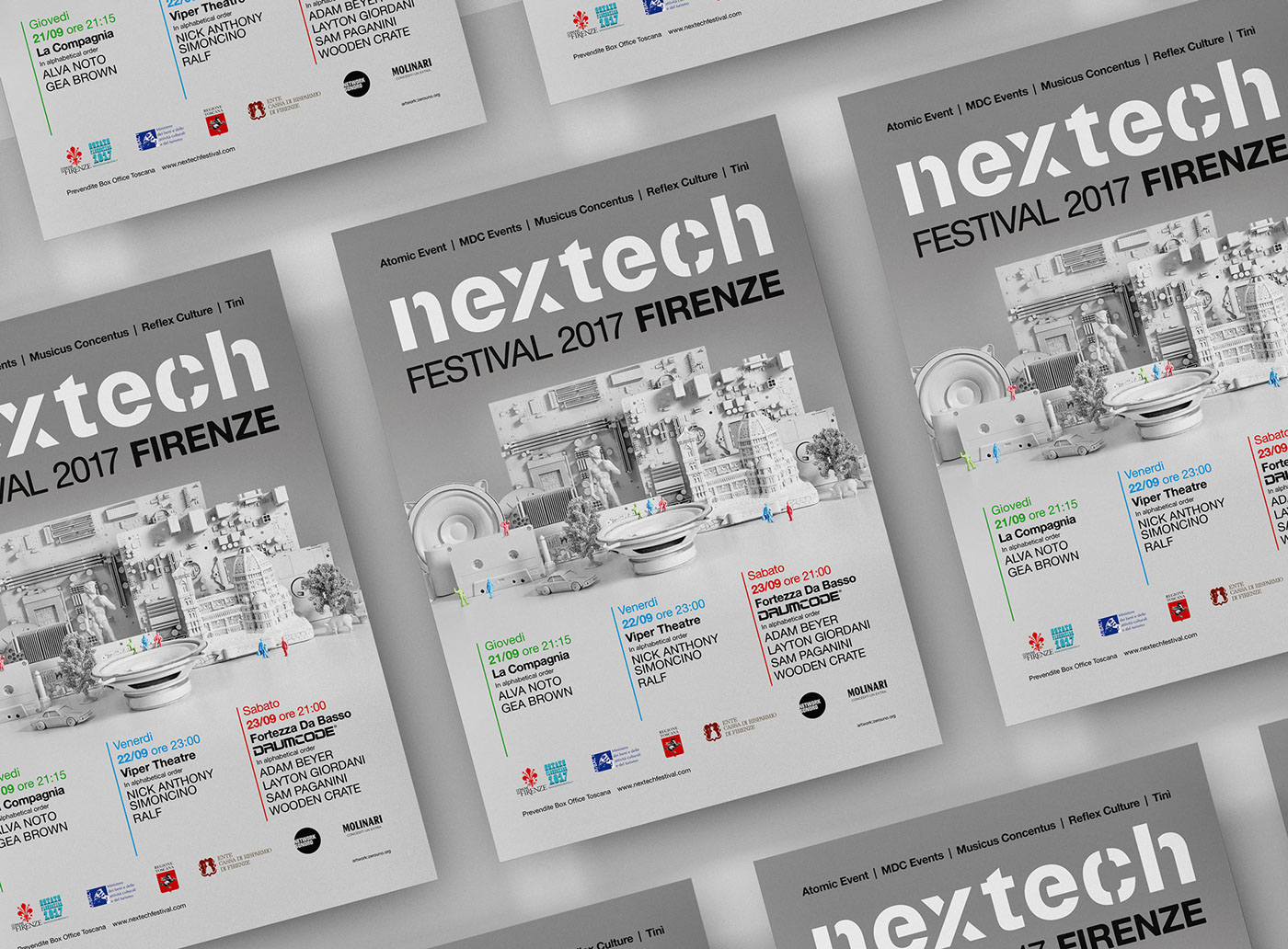 Festival Graphic poster graphic flyer graphic dance festival